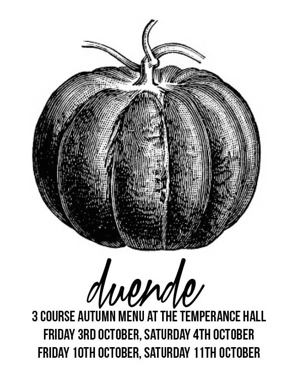 Duende returns to The Temperance Hall for October.